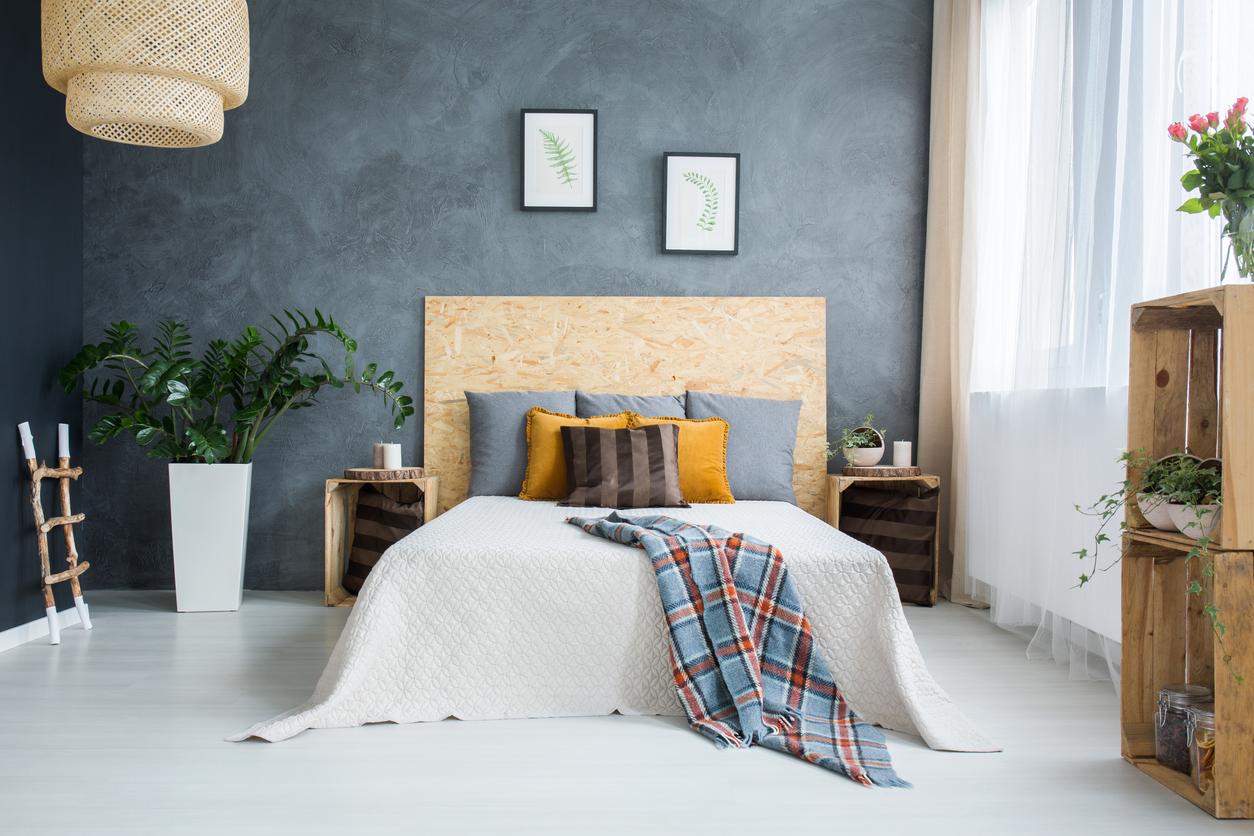 Une tête de lit en liège